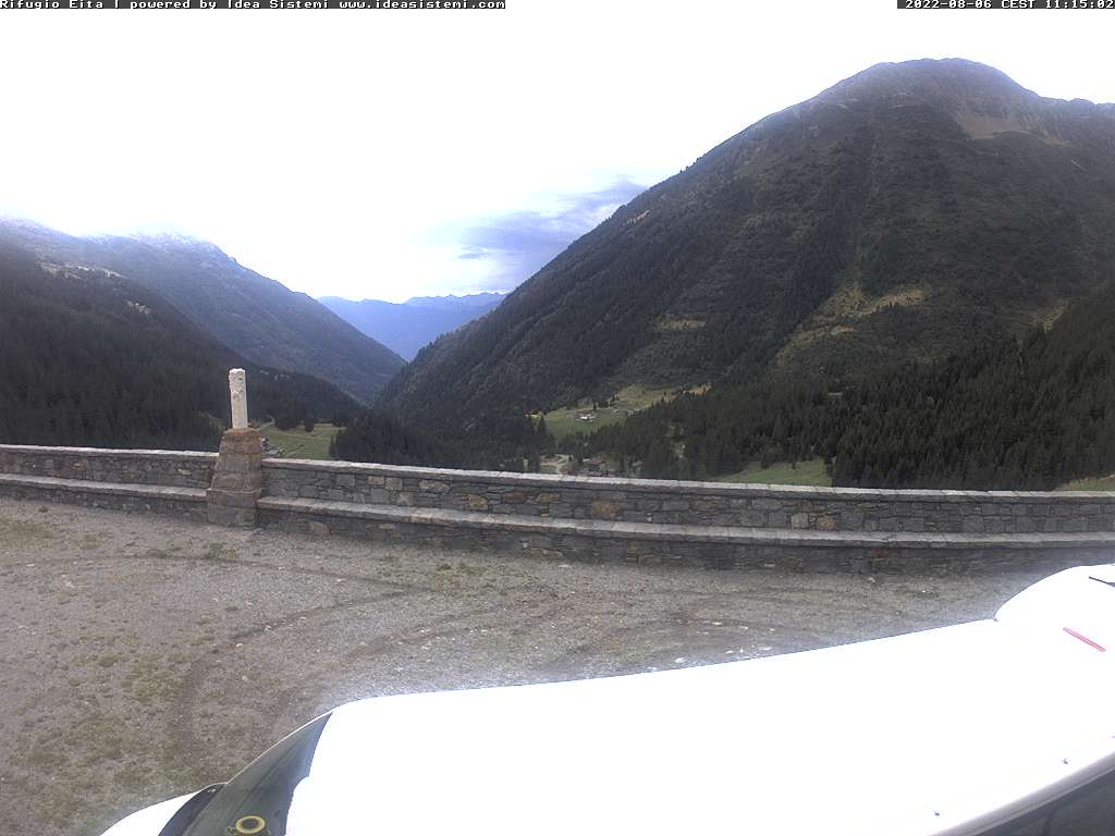 Webcam Rifugio Eita - Val Grosina